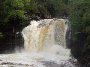 The Falls of Falloch near Crianlarich