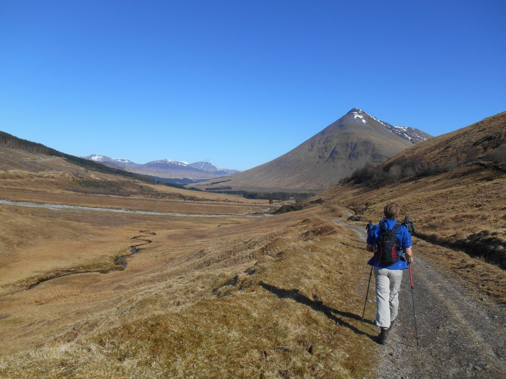 Ben Dorian, near Bridge of Orchy on a clear day.