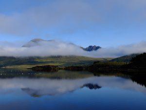 Beinn Alligin from Loch Torridon