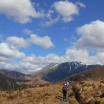 View of Ben Nevis from The West Highland Way