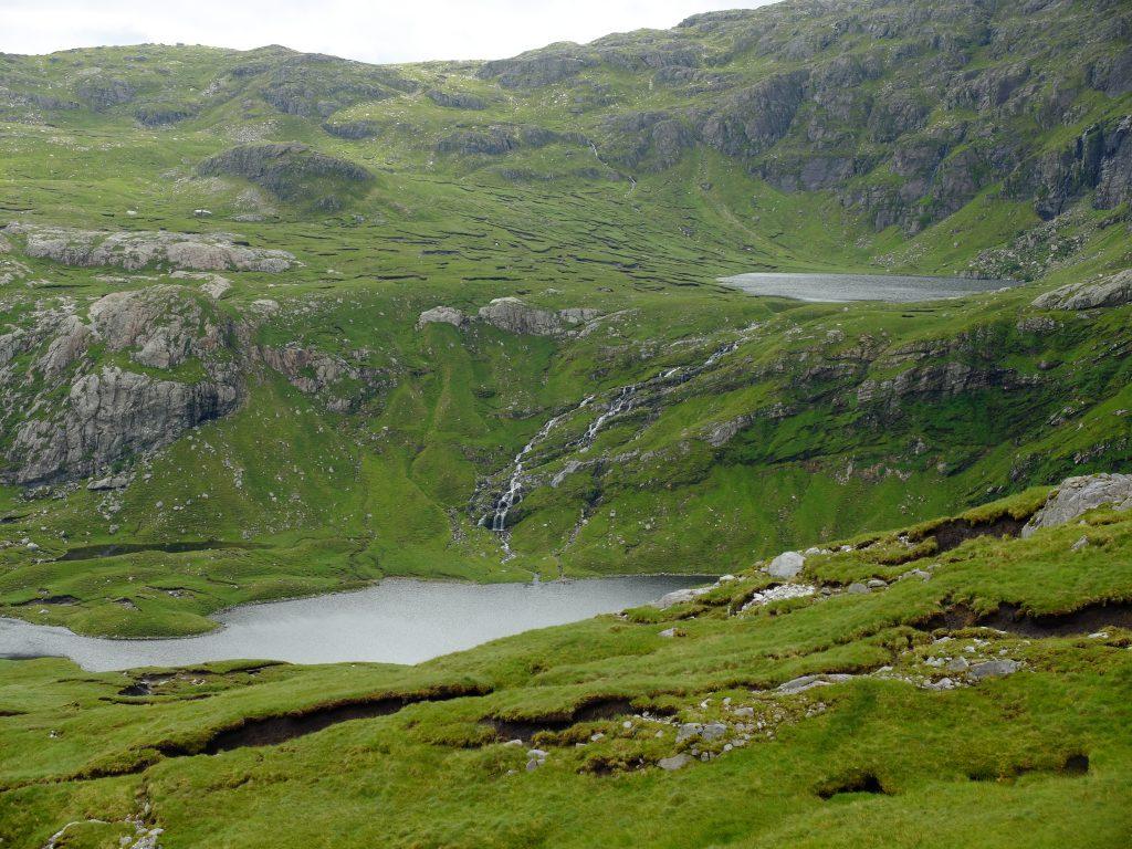 An Dubh Loch on the Cape Wrath Trail