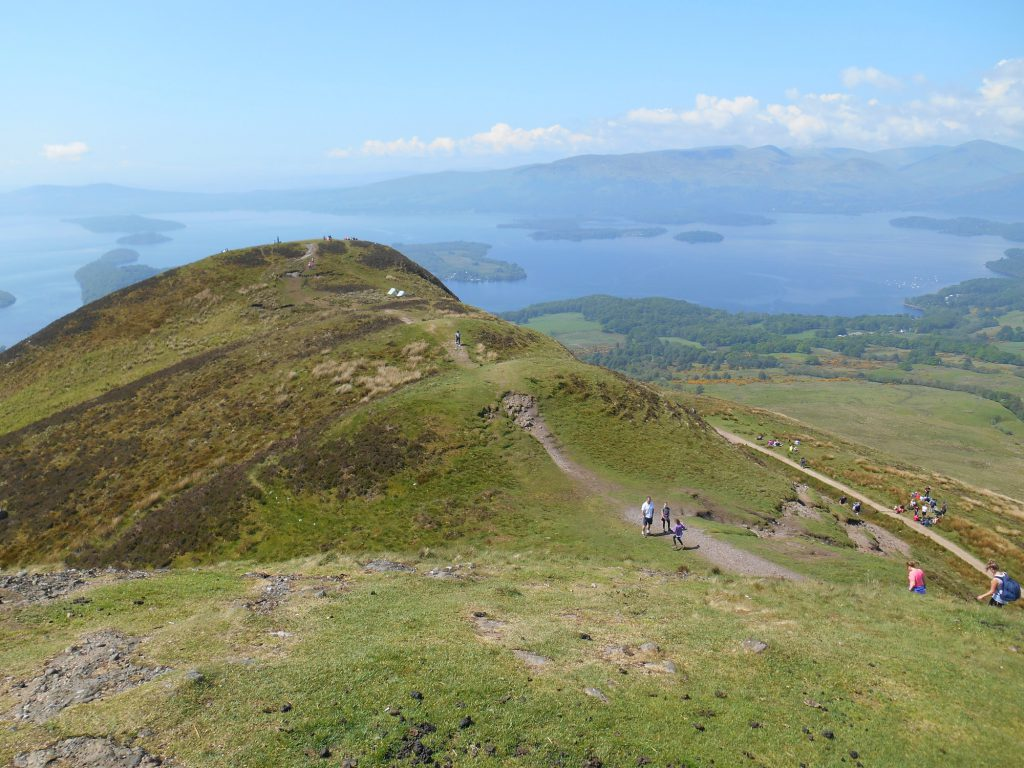 Conic Hill on a Sunny Day.