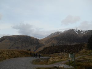 Descending into Glen Nevis