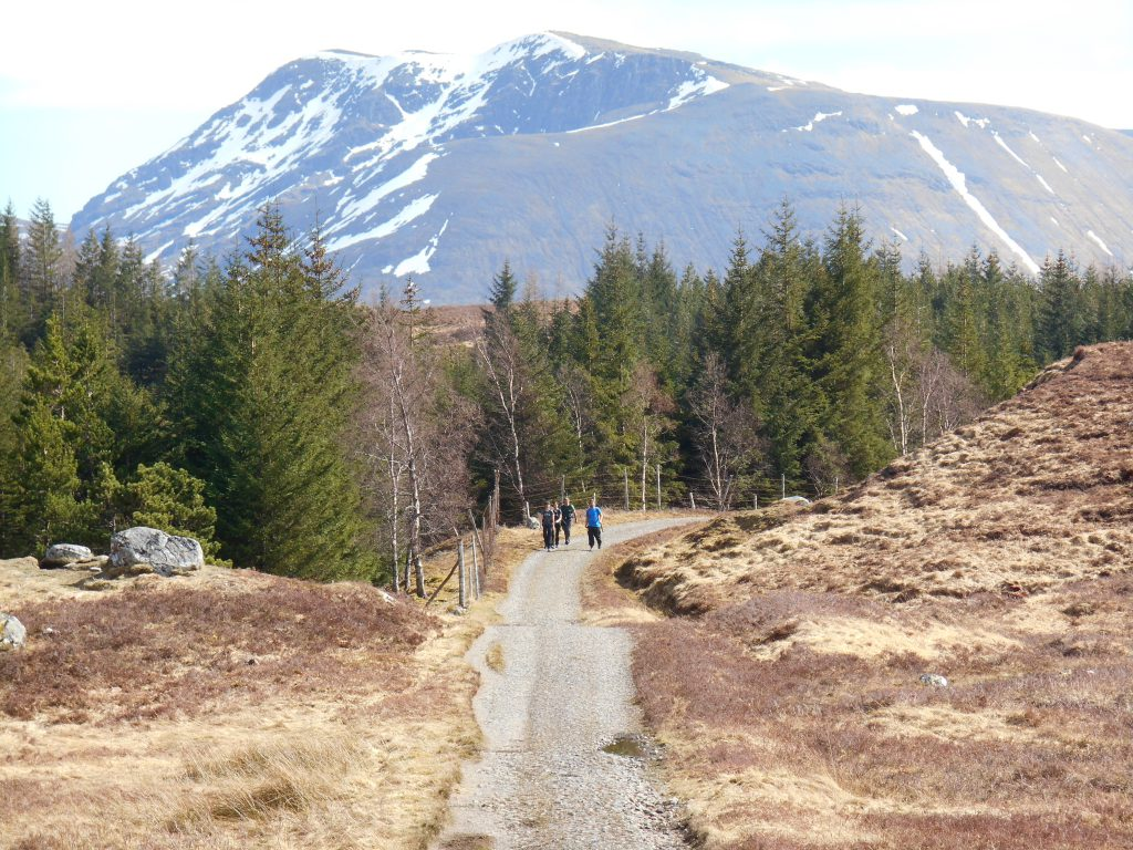 Drovers Road over Rannoch Moor on West Highland Way
