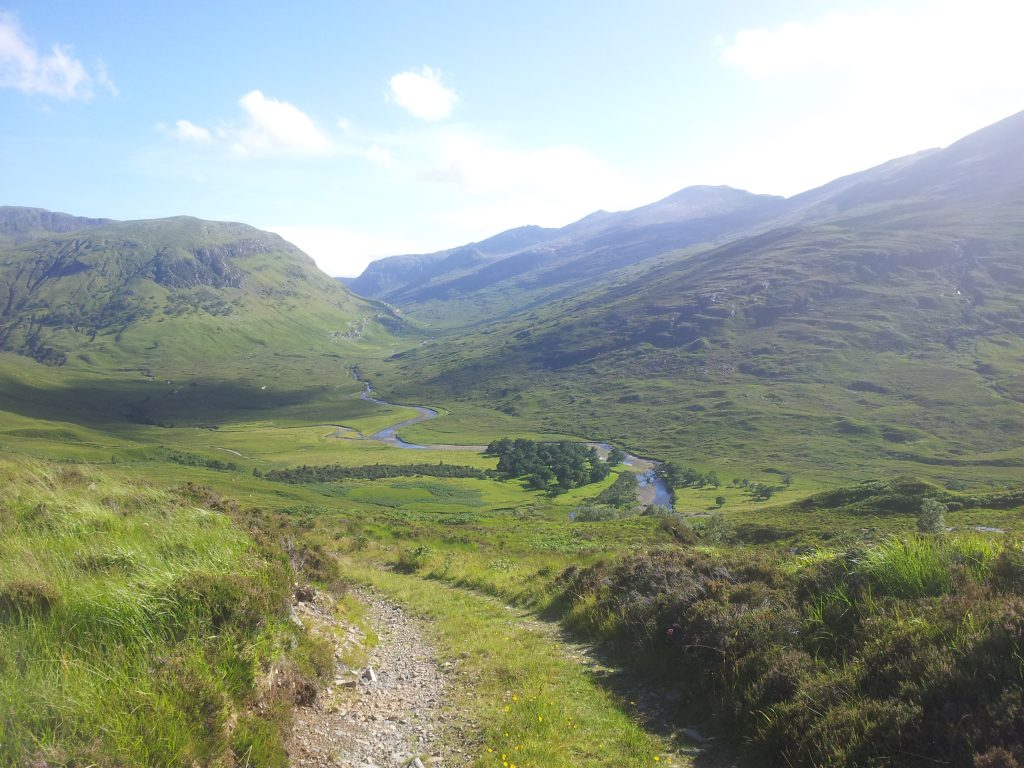 Fisherfield Hills on the Cape Wrath Trail