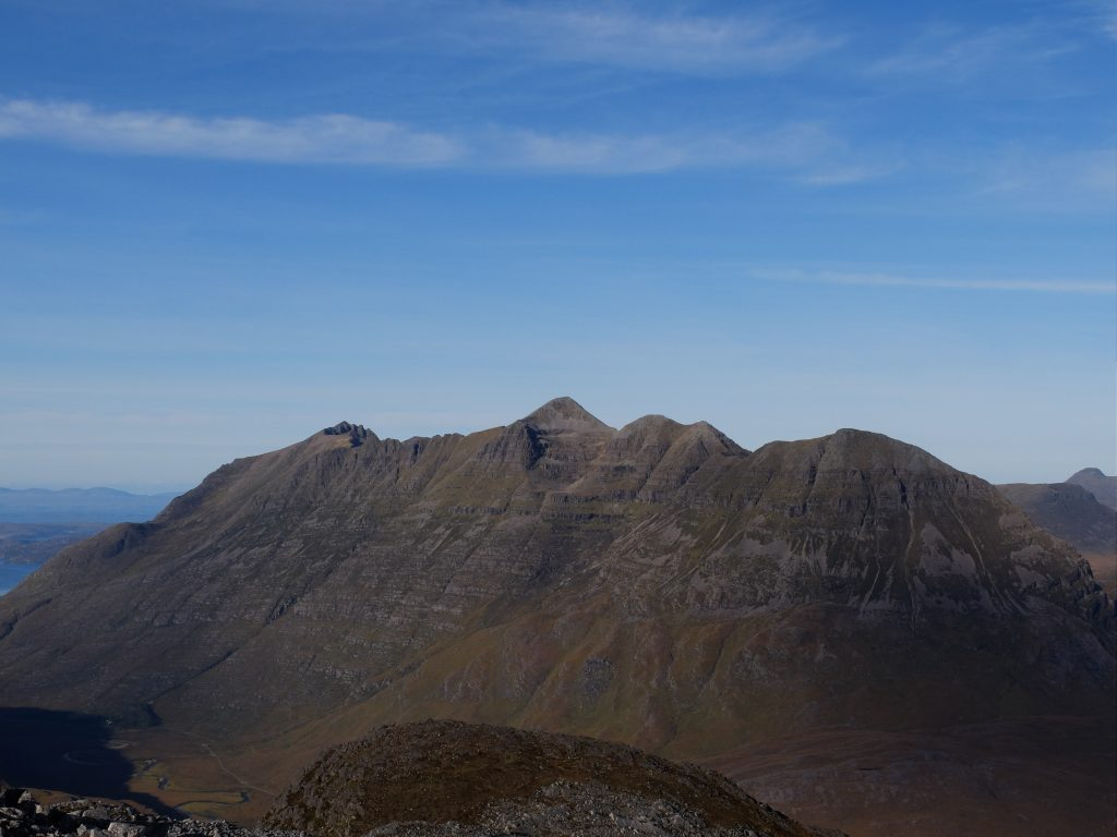 Liathach from the east
