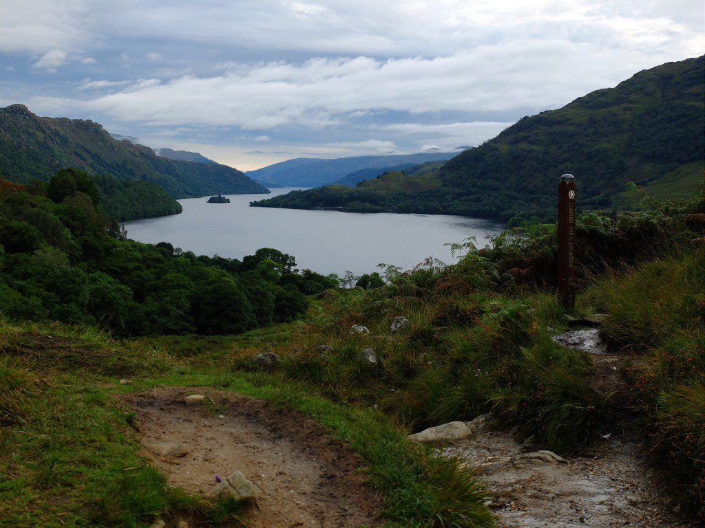 Loch Lomond Viewpoint on The West Highland Way