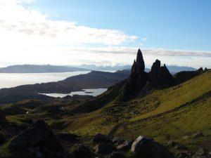 Old Man of Storr on the Skye Trail