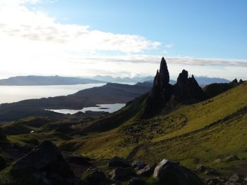 Old Man of Storr on the Skye Trail.
