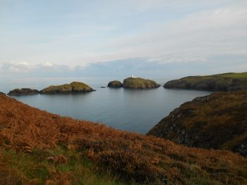 Series of Islands on a sunny day - Pembrokeshire Coast Path