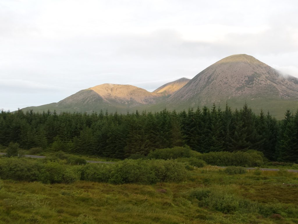 Beinn na Caillich on The Skye Trail.