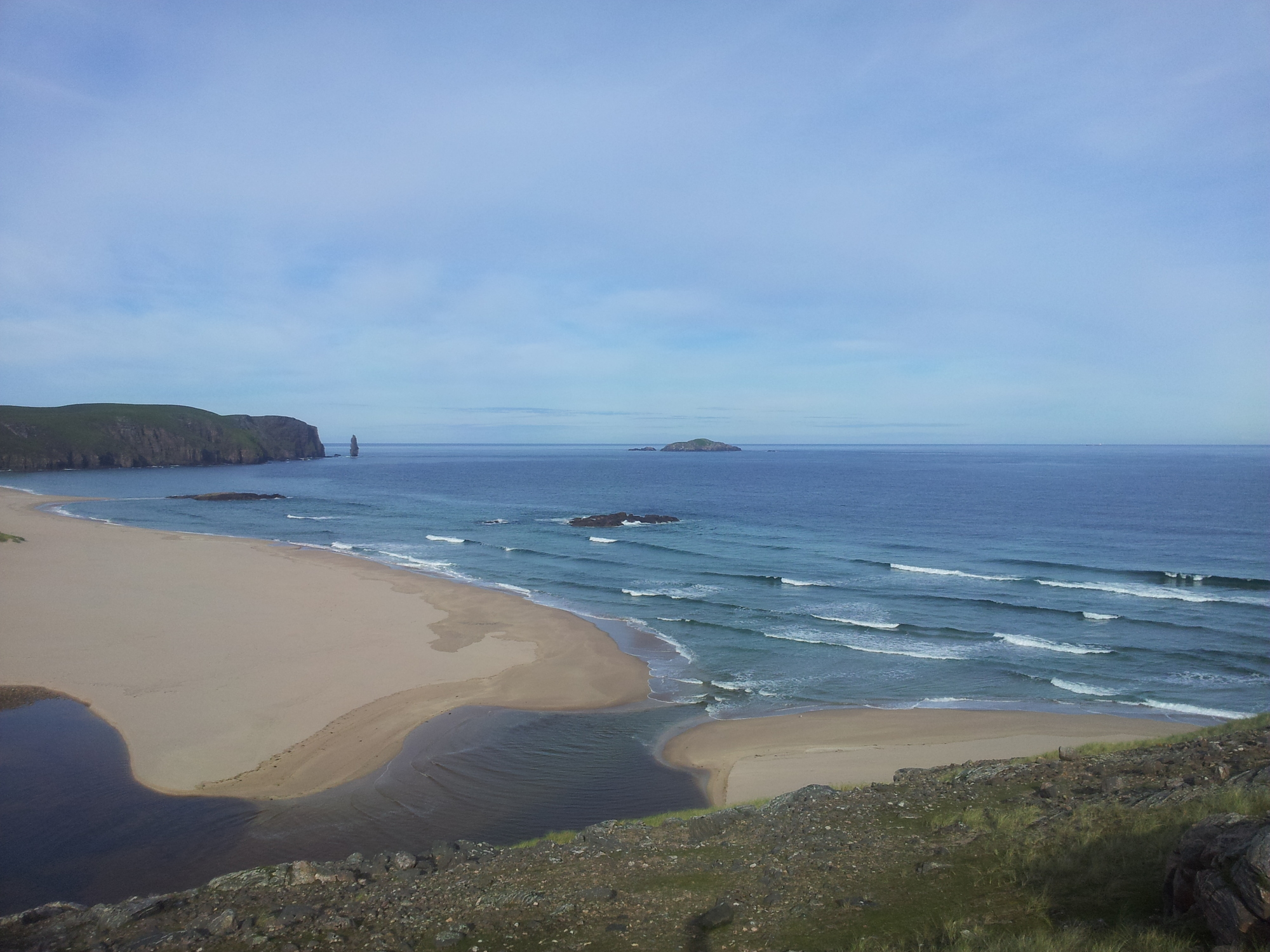 Sandwood Bay, Cape Wrath Trail