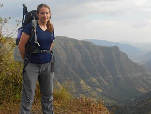 Scarlet, Thistle Trekking's Founder and Guide