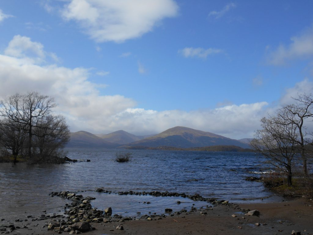 Beach on Loch Lomond