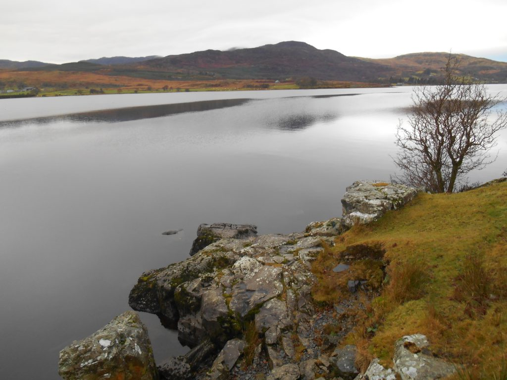 View of calm lake - Snowdonia Way