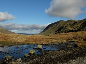 Edge of Grisedale Tarn