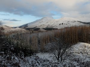 Hills Over Crianlarich In the Winter