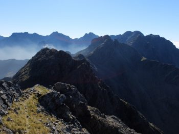 Looking south over the central Cuillin - Skye Cuillin Munros