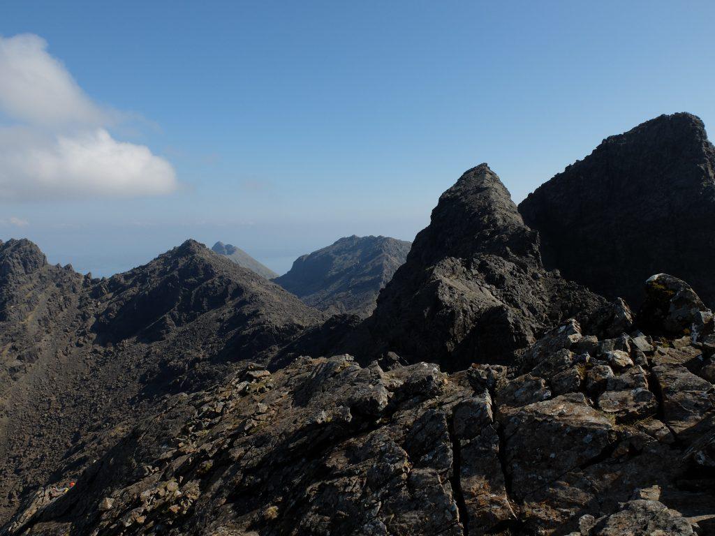 Sgurr Thearlaich & Sgurr Alasdair - Skye Cuillin Munros