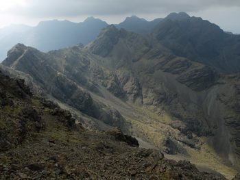The quiet and remote central Cuillin - Skye Cuillin Munros