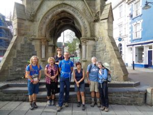 Start of the Snowdonia Way