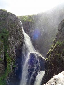 Falls of Glomach, Cape Wrath Trail