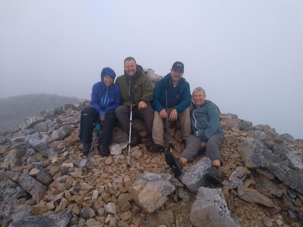 Summit of Beinn Eighe