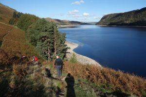 Walking Along Haweswater