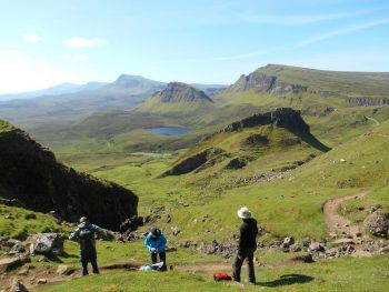 The Skye Trail Trotternish Ridge