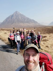 Thistle Trekking Guide, Ian, On The West Highland Way