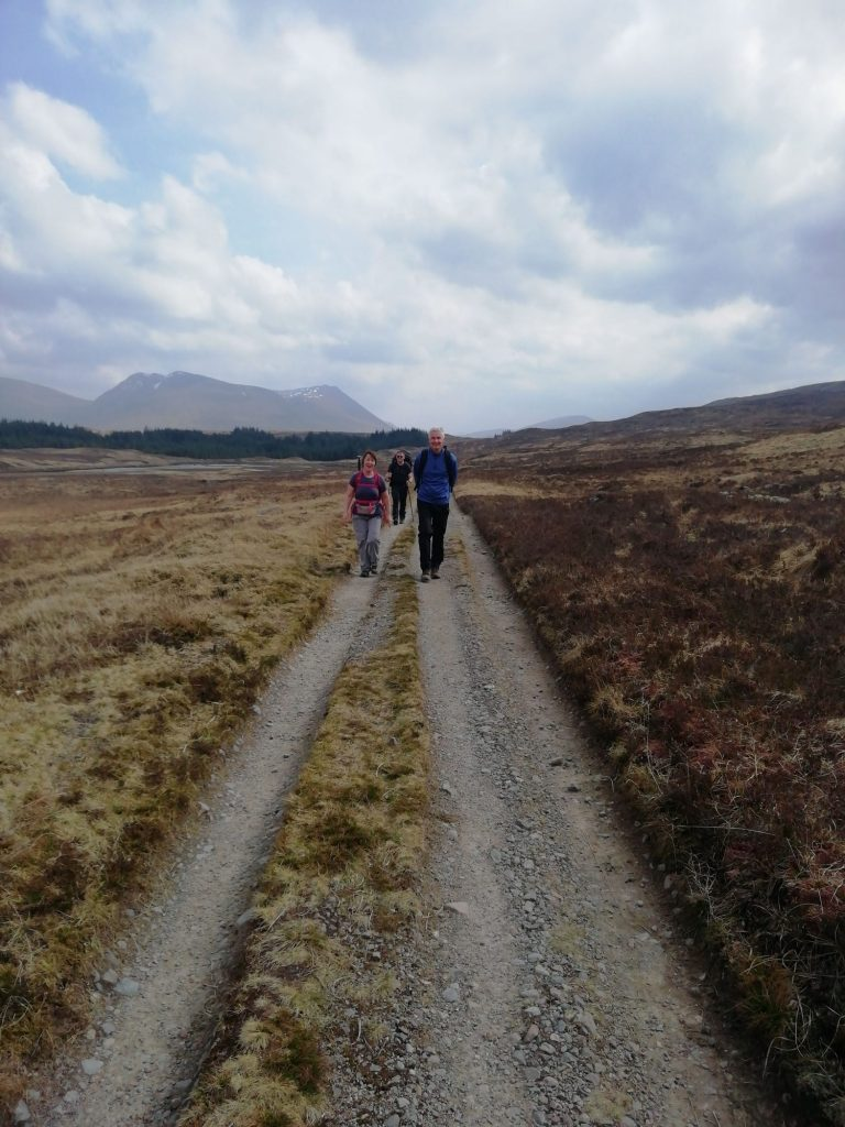 Old Military Road, Rannoch Mor - The West Highland Way