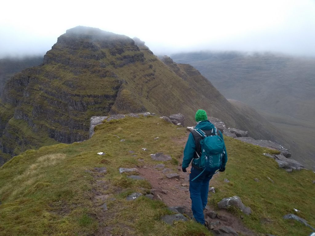 Heading to the Horns of Alligin