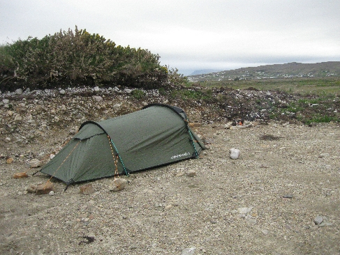 Wild Camping on Rocky Ground