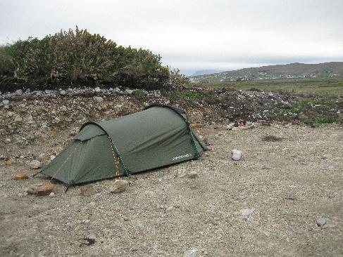 Wild Camping on Rocky Ground