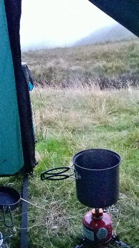 Boiling water in my kettle pot