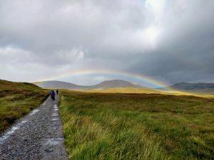 Rainbow on Rannoch Moor