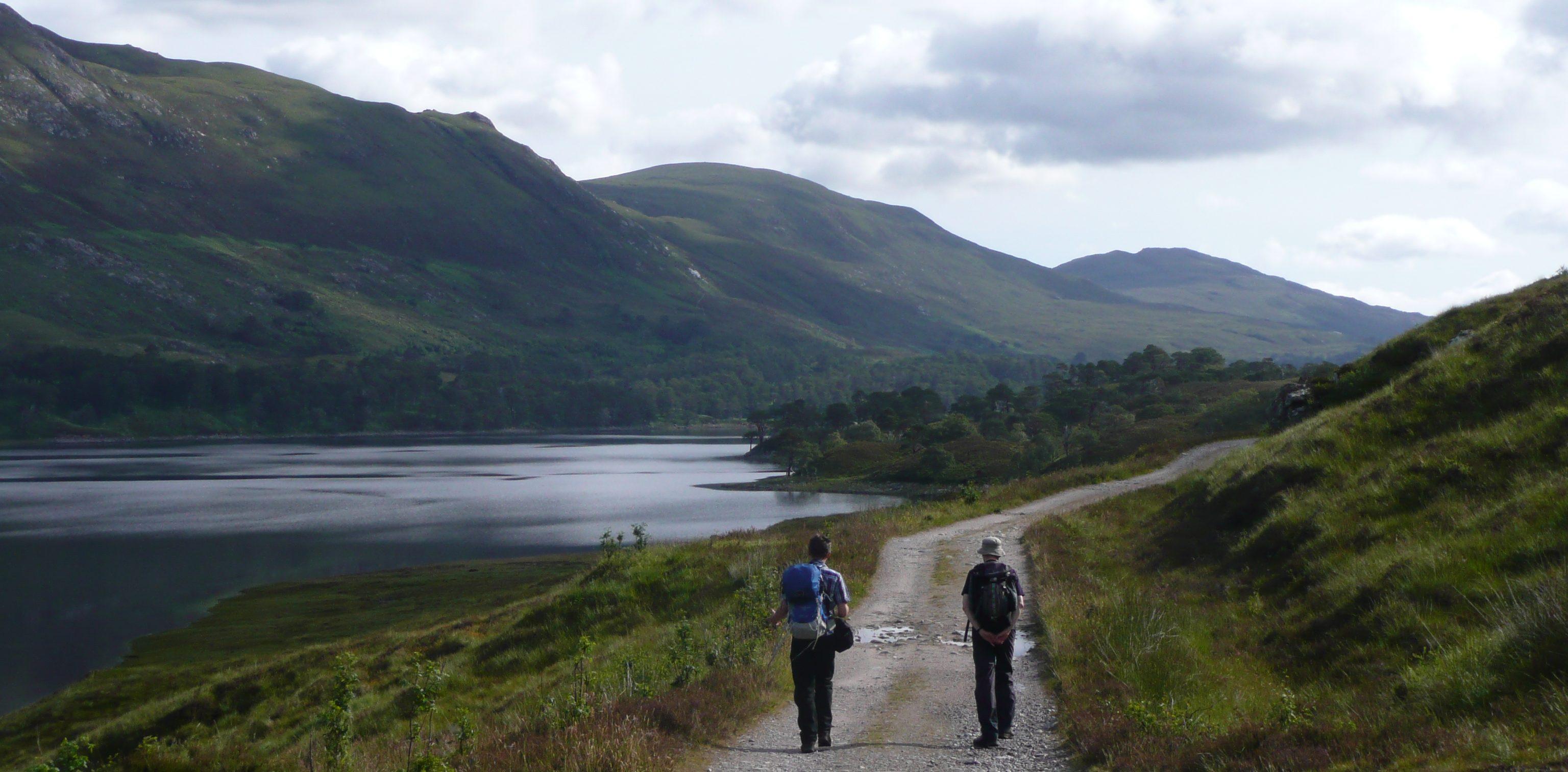 Glen Affric walkers