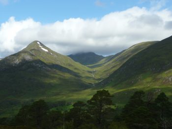 Affric Kintail Way moutains