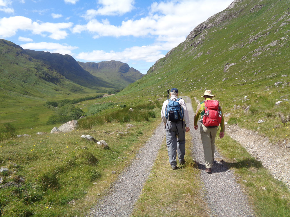 Cape Wrath Trail Glen Elchaig