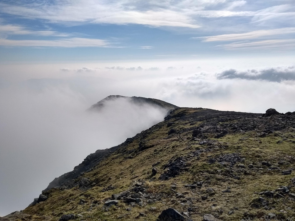 Ben More Isle of Mull cloud inversion