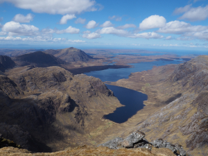 View to Poolewe along Fionn Loch