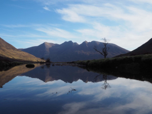 An Teallach in reflection