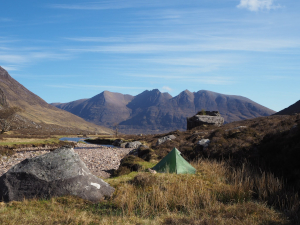 wild camp Fisherfield